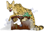 -Logo Design- Pandora's Exotic Pets by Godspoison