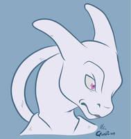 -Pokemon- Mewtwo by Godspoison