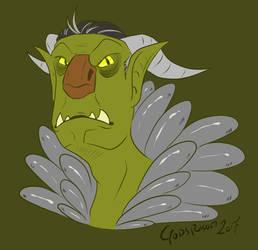 - Trollhunters - Mr Strickler by Godspoison