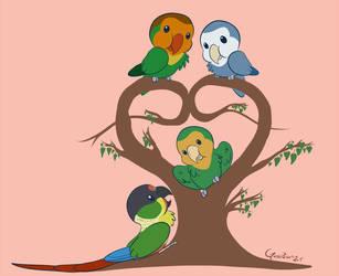 - My pets - Birdy Valentine by Godspoison