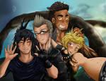 - Final Fantasy 15 - Strike a Pose