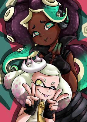 -Splatoon 2- Marina and Pearl