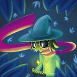 Ralsei And The Dtermination by loupil100