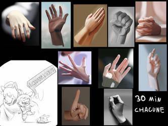 Hands studies