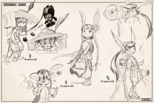 Lenpentus character disign (4)