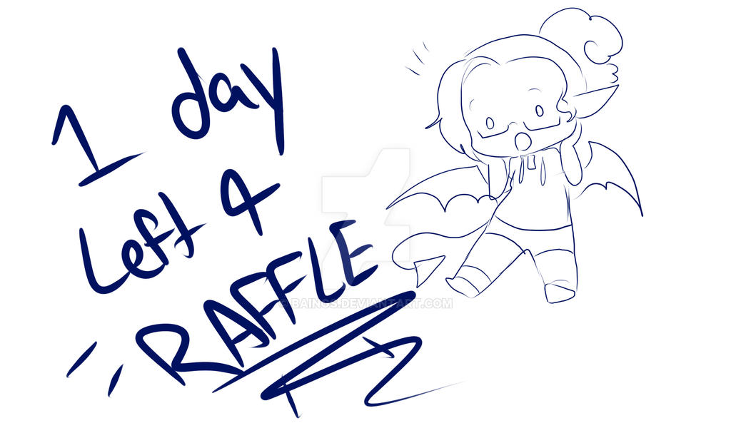 1 DAY LEFT FOR RAFFLE by baings