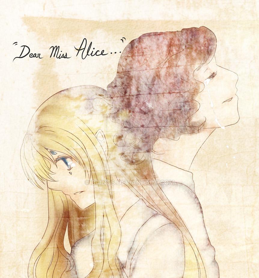 -Hgu-Human history - Dear Miss Alice by baings