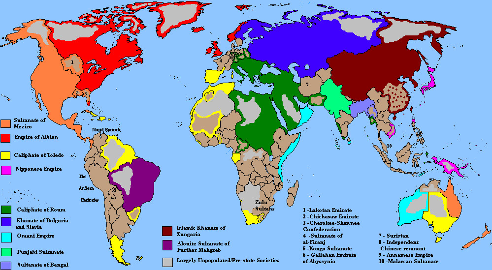 Islamic World 1907 by QuantumBranching on DeviantArt