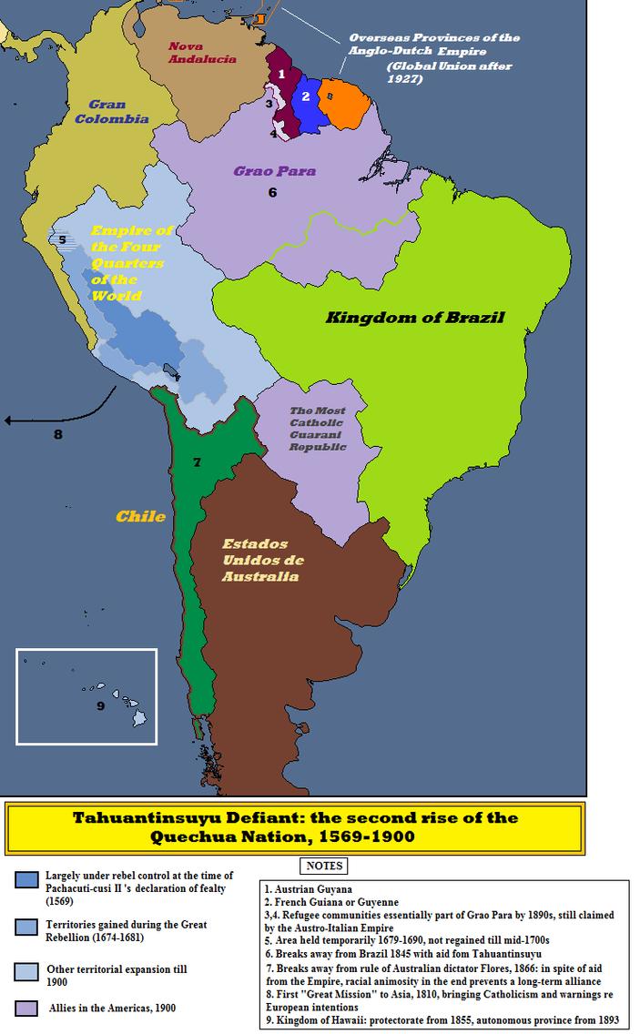 Inca Rising by QuantumBranching