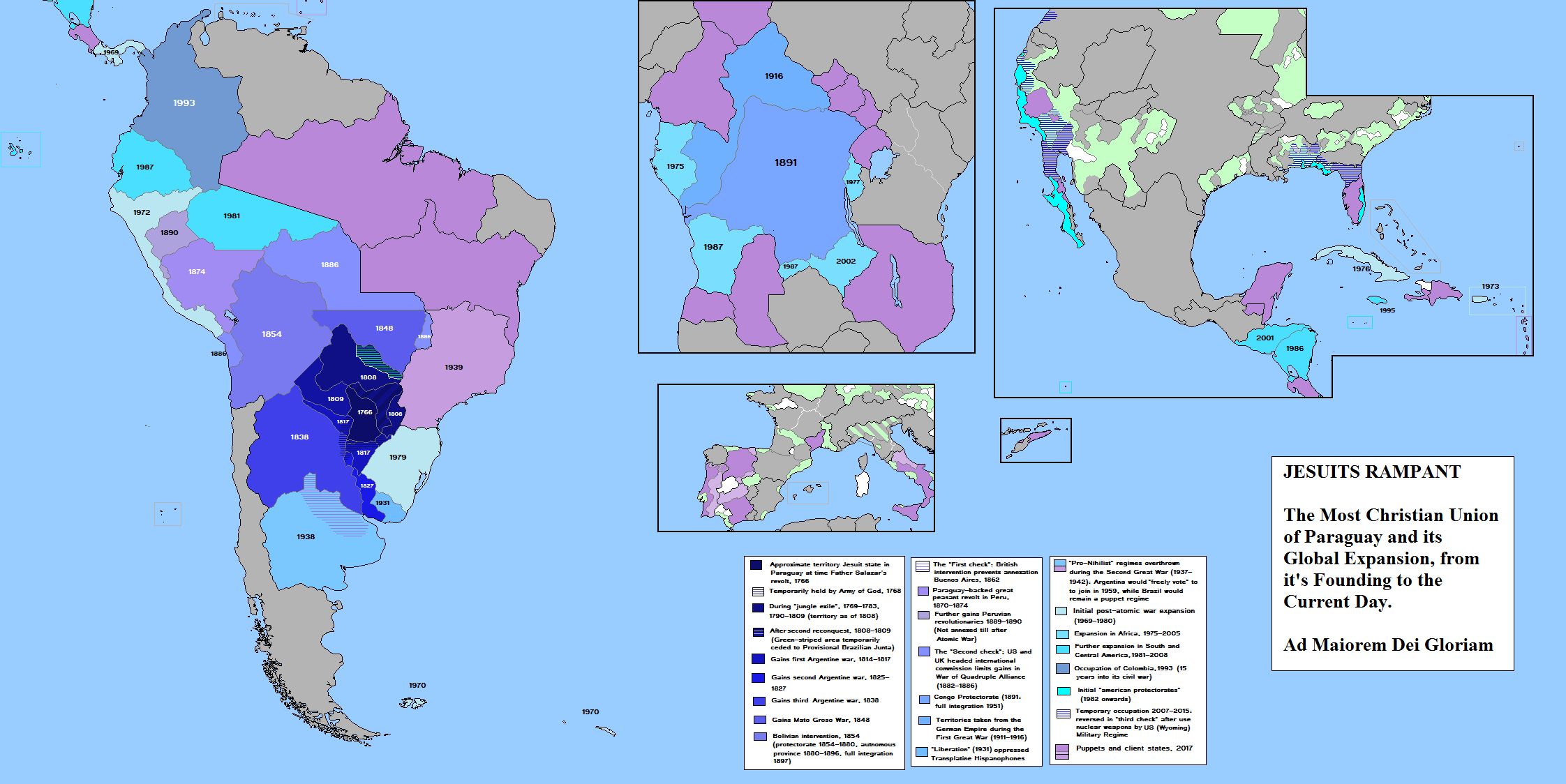 Holy Paraguay By QuantumBranching On DeviantArt - Map of paraguay world