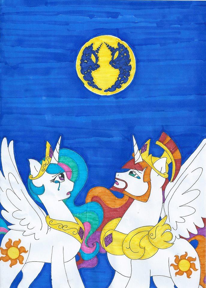 celestia base mlp lullaby for a princess