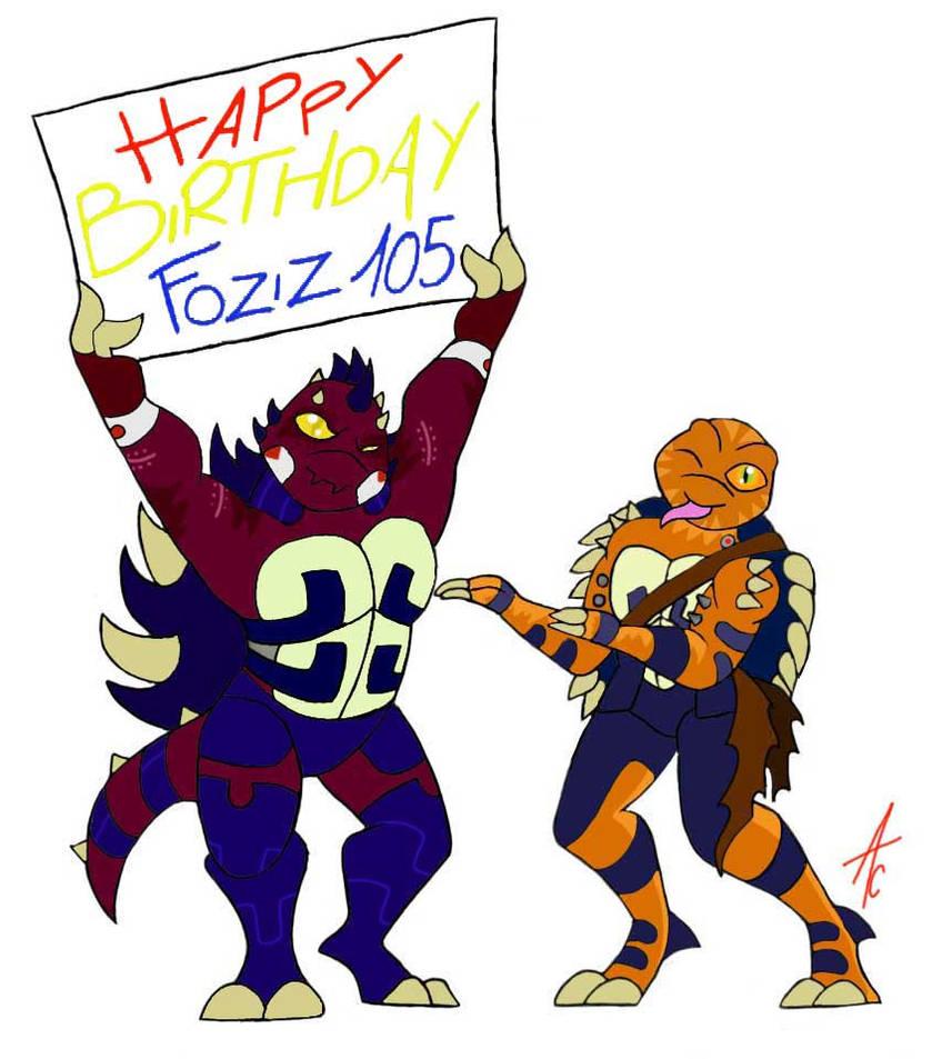 Happy birthday Foziz105 by AliceCherie