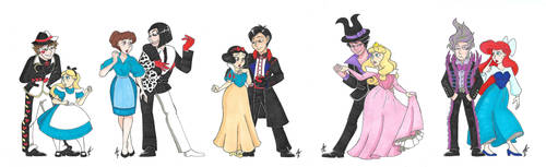 Villains Recruiters and princesses 1