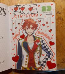 Ace's birthday journal