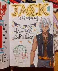 Jack's birthday journal