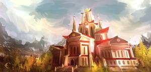 Lilium Castle by Illustrum