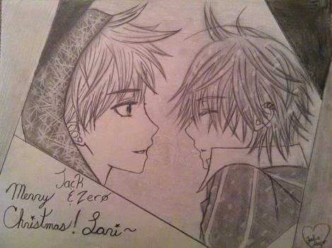 Jack Frost and Zero Kiryu