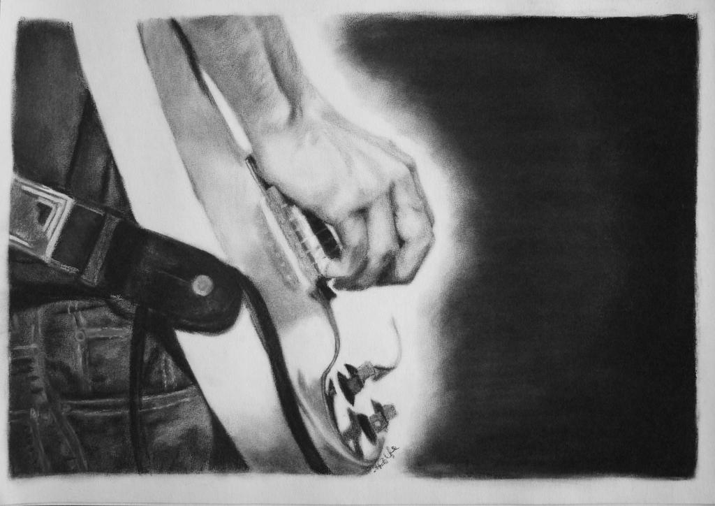 His Guitar by Living-Elixier