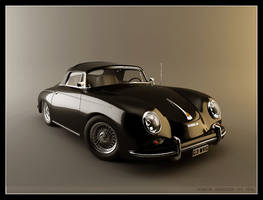 Porsche Speedster Typ 356A_02 by sedatdurucan