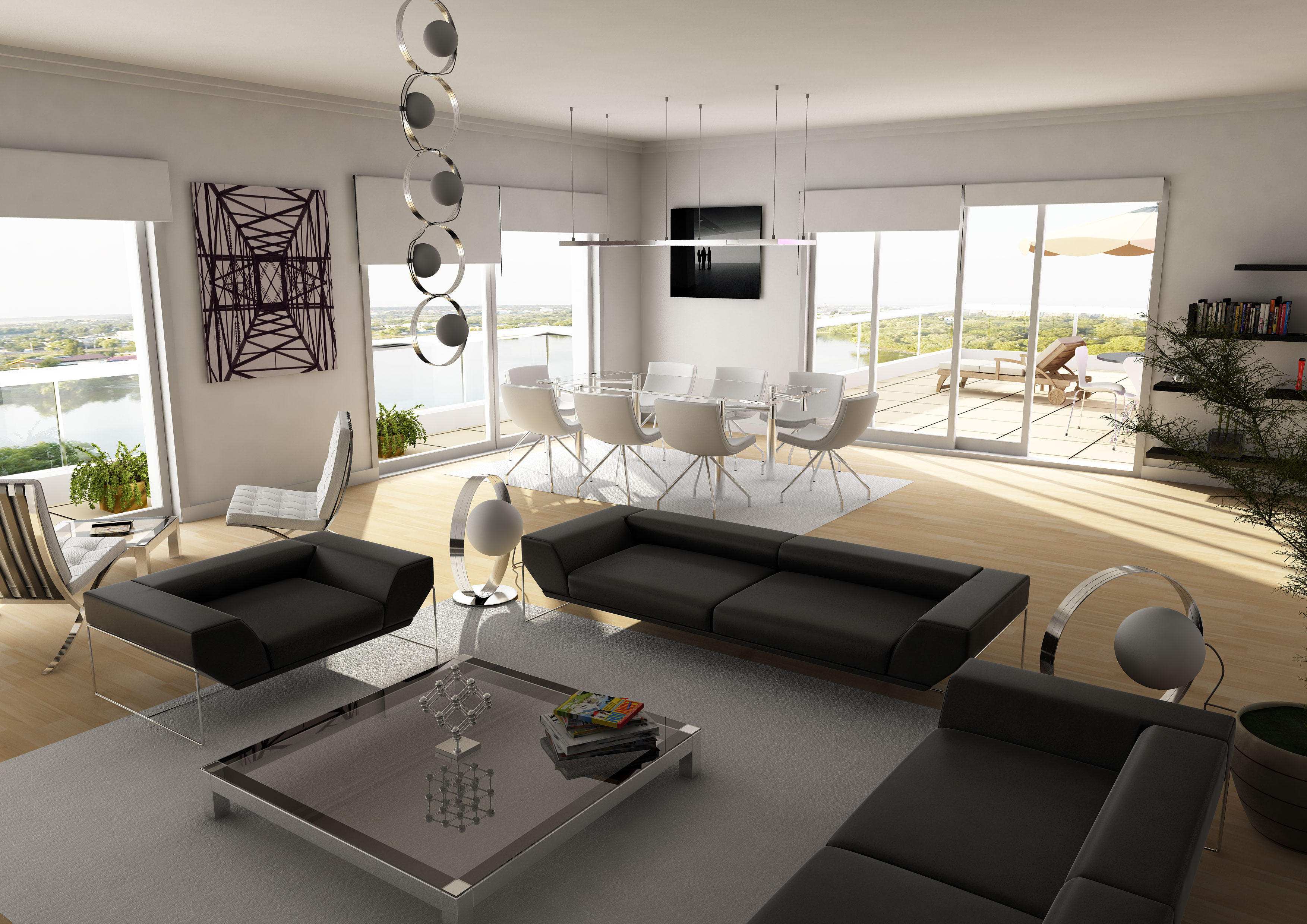 Living Room High Resolution By Sedatdurucan