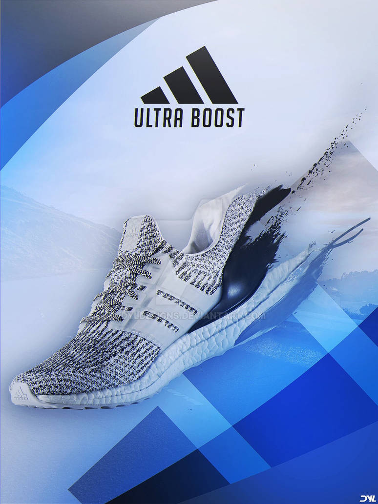 Adidas Ultra Boost Advertisement By Dyldesigns On Deviantart