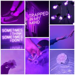 Purple mood board  by broken-light-bulbs