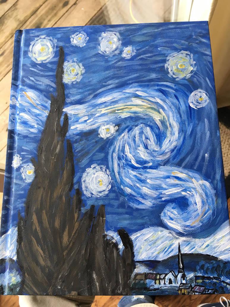 Starry Night by broken-light-bulbs