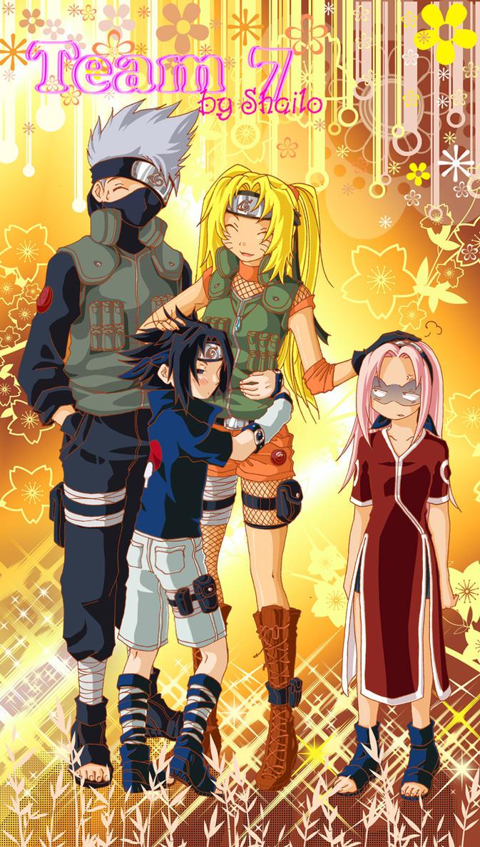 Naruto: Team 7 by Shailo