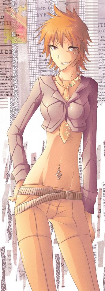 Bleach: fem Ichigo 2 by Shailo