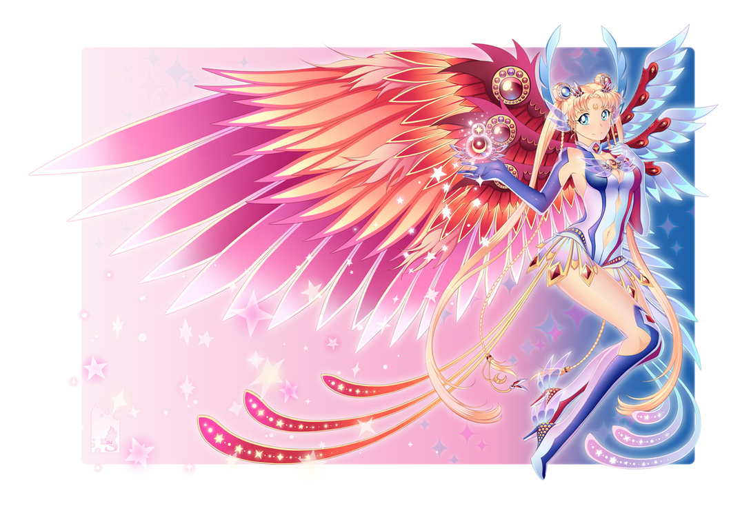 Sailor Moon: Midnight wing by Shailo