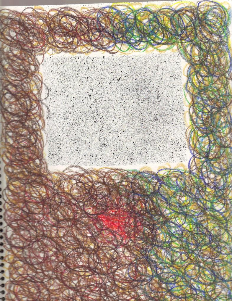 Circles within Circles, Circling Square Splatter by DeaconStrucktor