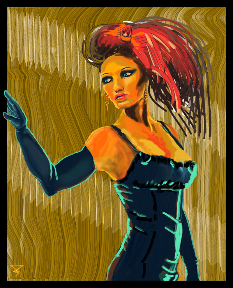 Sound and Fury (Jazz Singer) by DeaconStrucktor