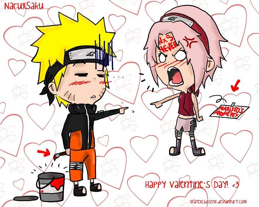 NaruSaku: Valentineu0027s Prank By Xfatexchosenx ...