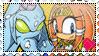 ChaosxTikal (Tikaos) stamp by ShadamyFan4everS