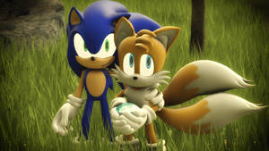 Sonic and Tails by ShadamyFan4everS