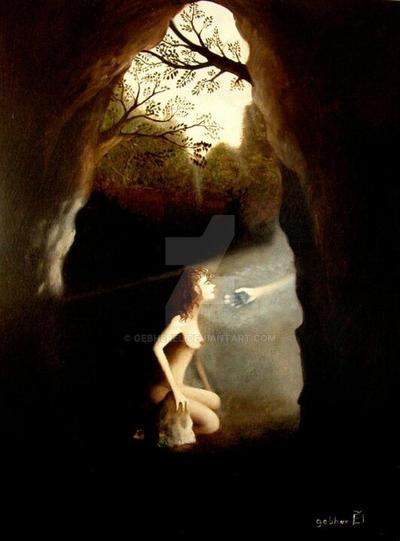 Vergine delle rocce by gebherEl