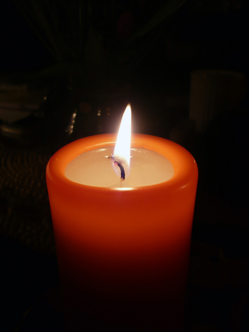 candle in the dark - photo #26