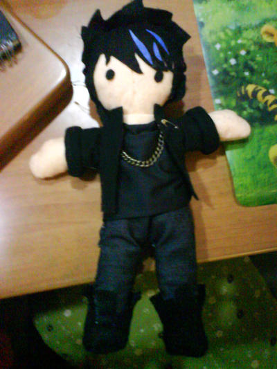 adam lambert plushie-2 by akai-bucket