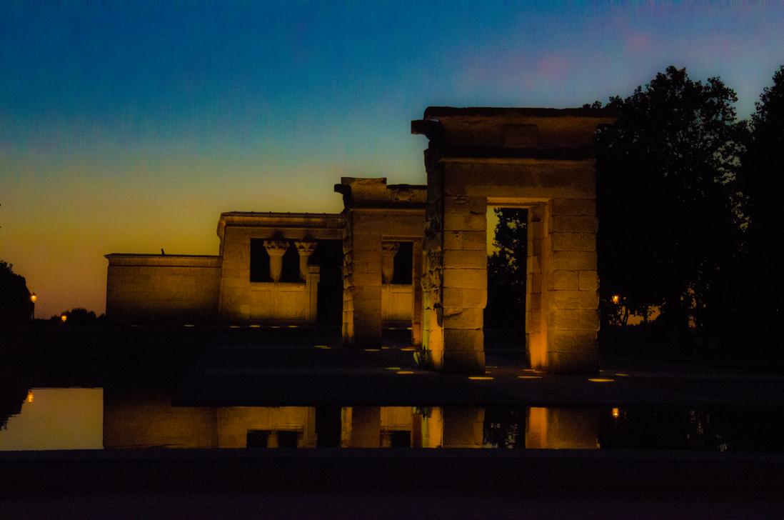 Templo de Debod by Carlosf93