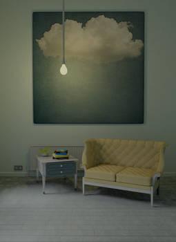 Minimal interior scene 01