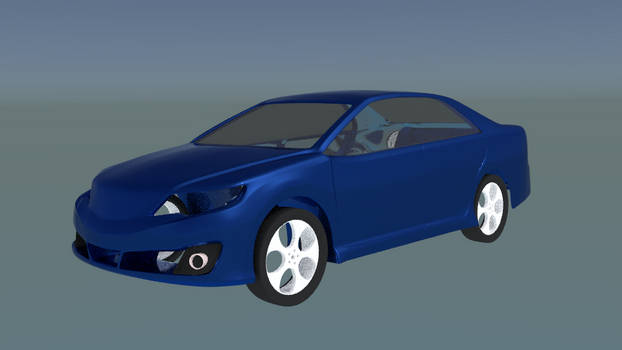Toyota Camry 2013 test