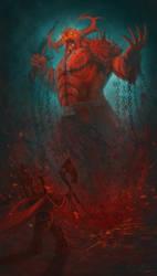 Blood for the blood god! by PlumpOrange