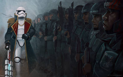 commissar TR-8R searching for a TRAITOR