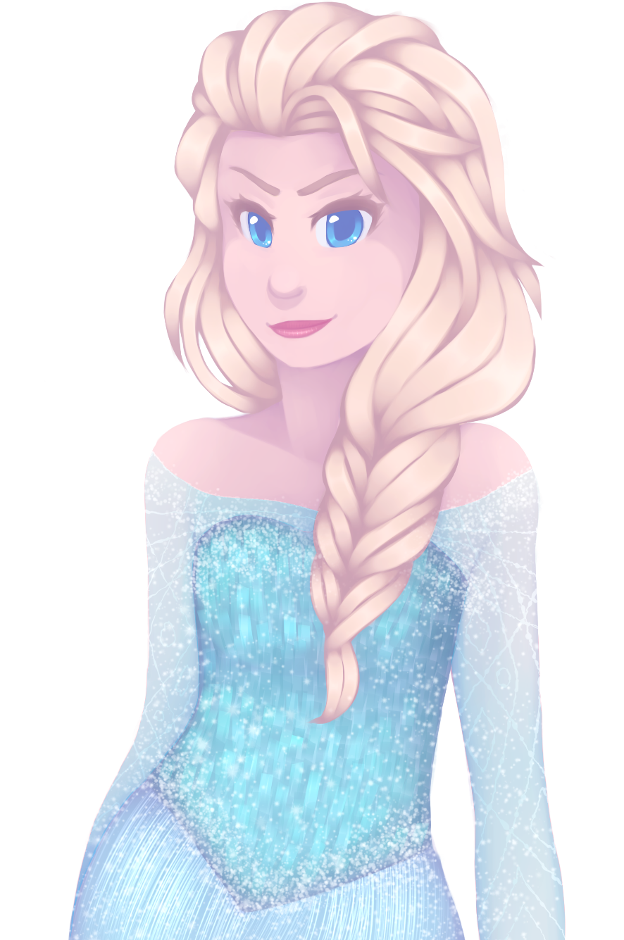 Queen Elsa by RingaButt
