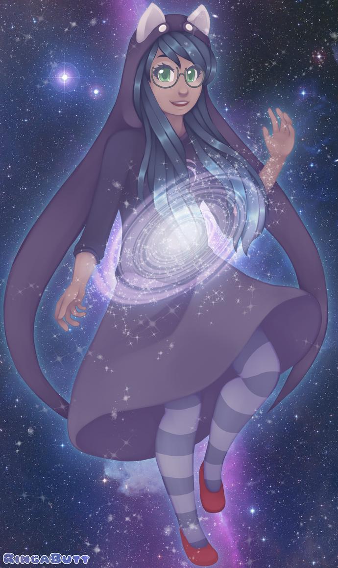 Jade Harley: Galaxy Gal REDRAW by RingaButt