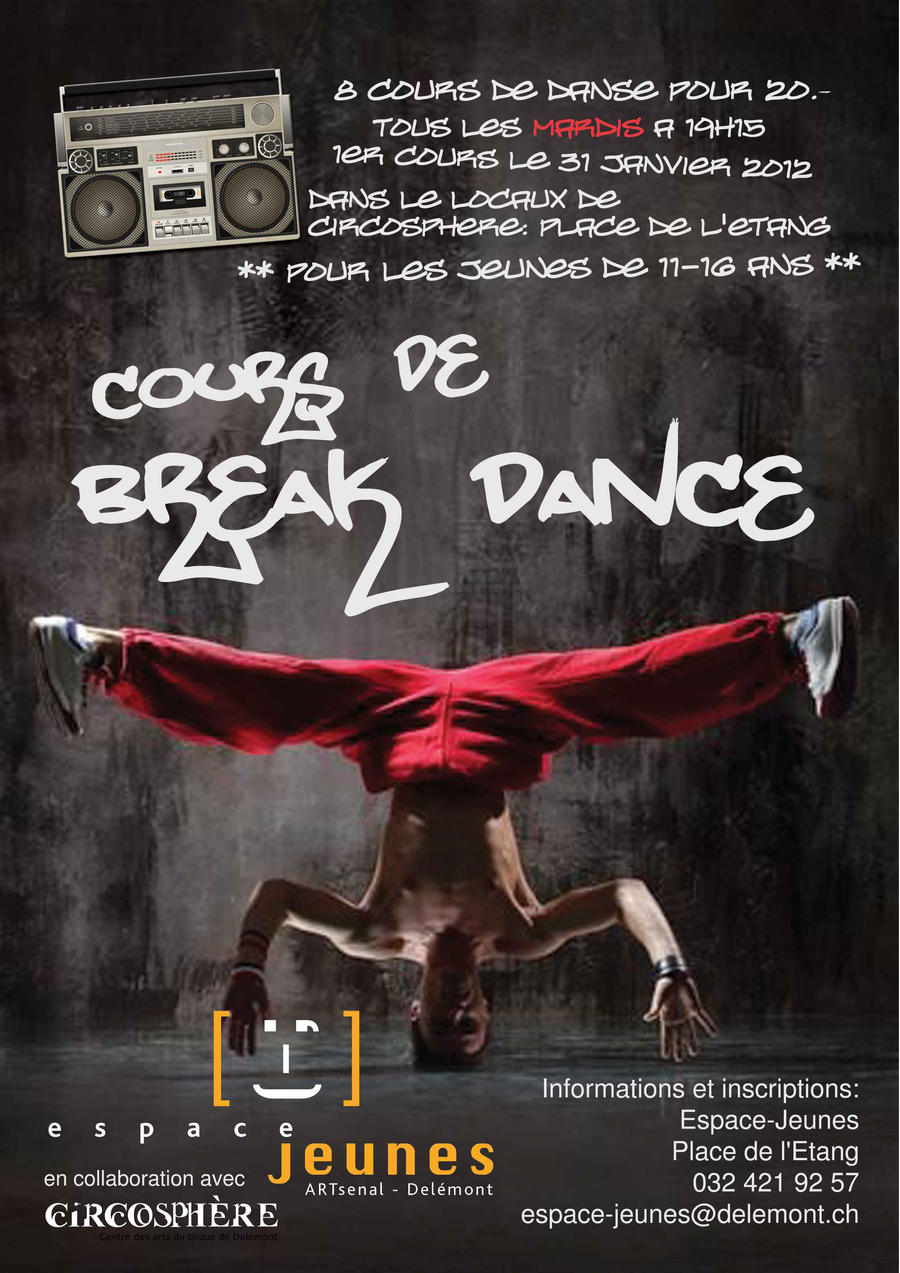 Cours de break Dance by 8temps