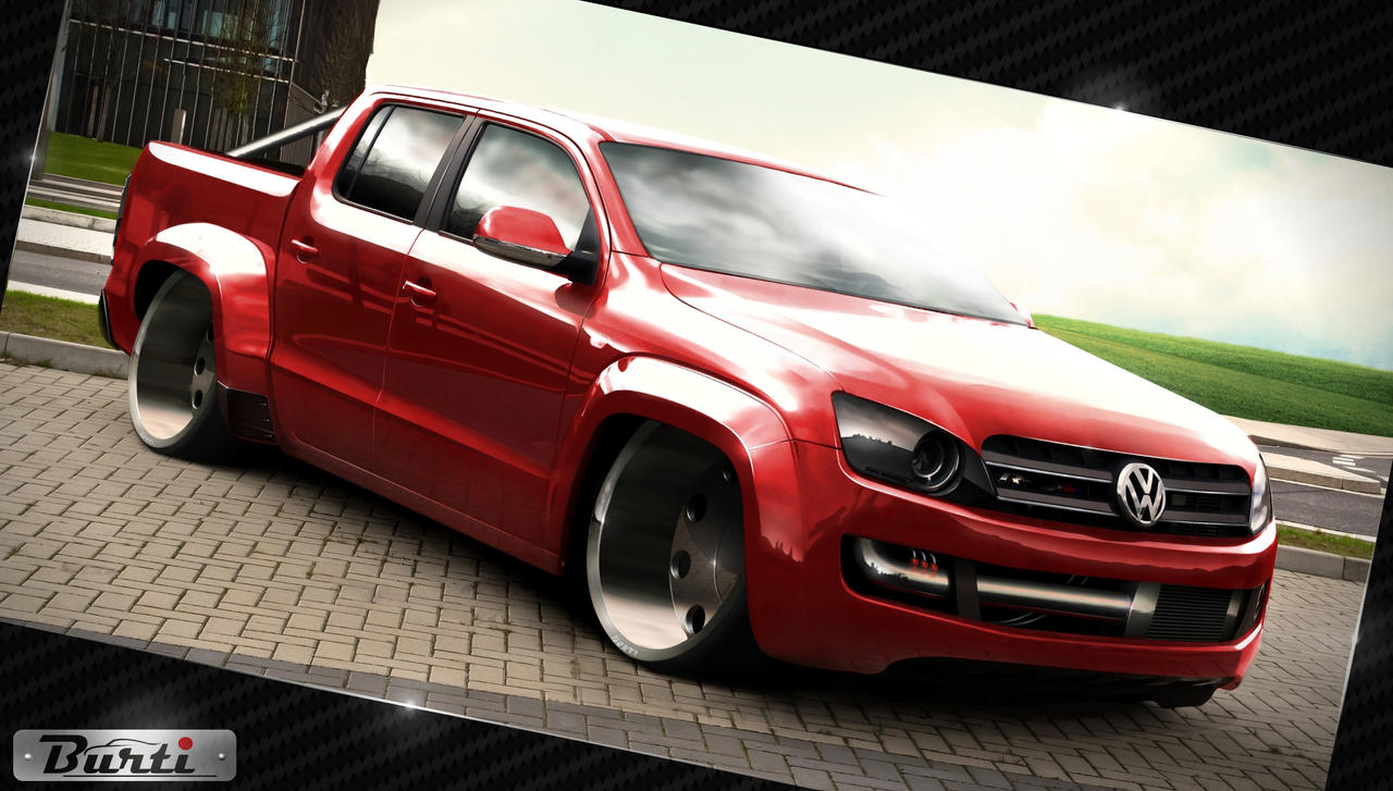 Vw Amarok Rline By Burtiloko On Deviantart