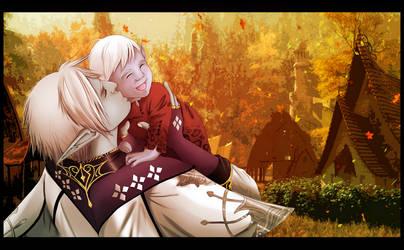 Dark Elves Fatherhood by HarrietMilaus