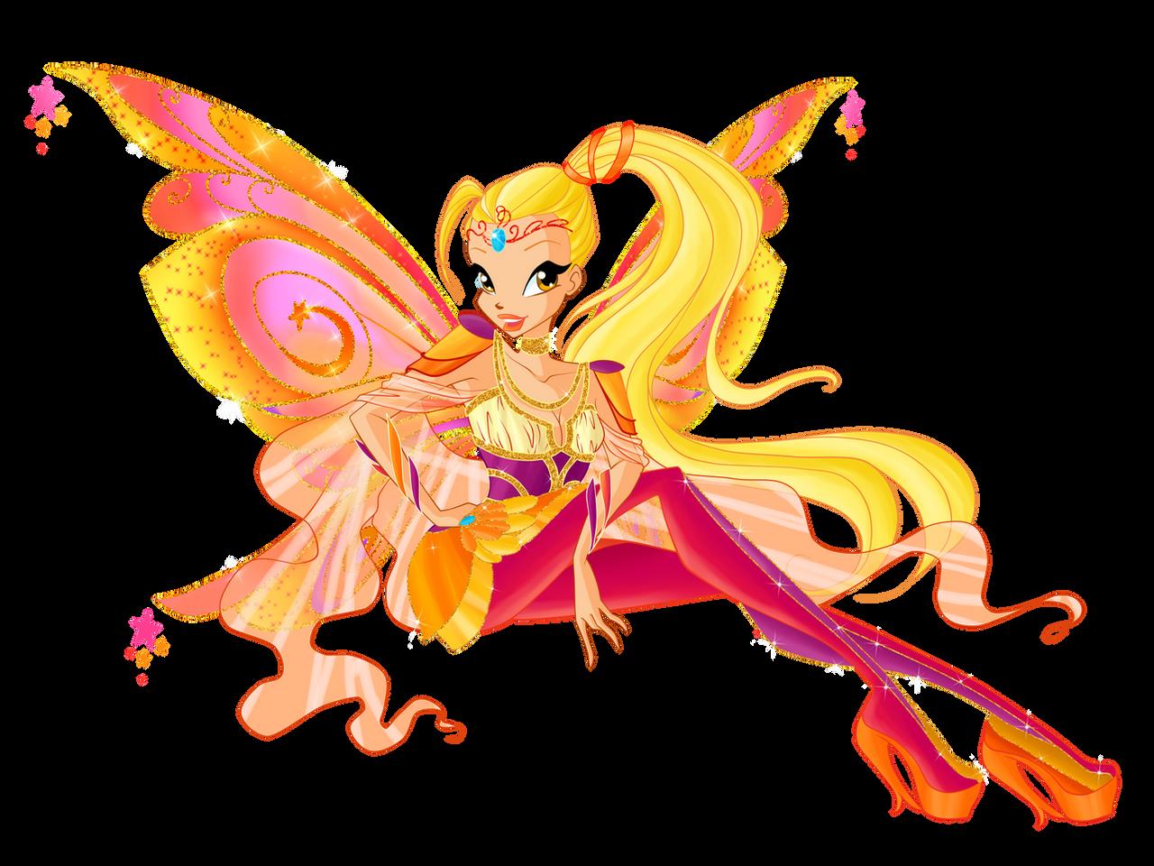 doll poupee muneca figure winx club stella fairy bloomix power no sirenix mythix ebay. Black Bedroom Furniture Sets. Home Design Ideas