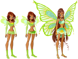 Lana Fairy Evolution by AstralBlu